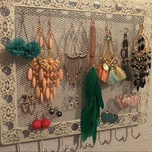 13 pairs of new without tag earrings.